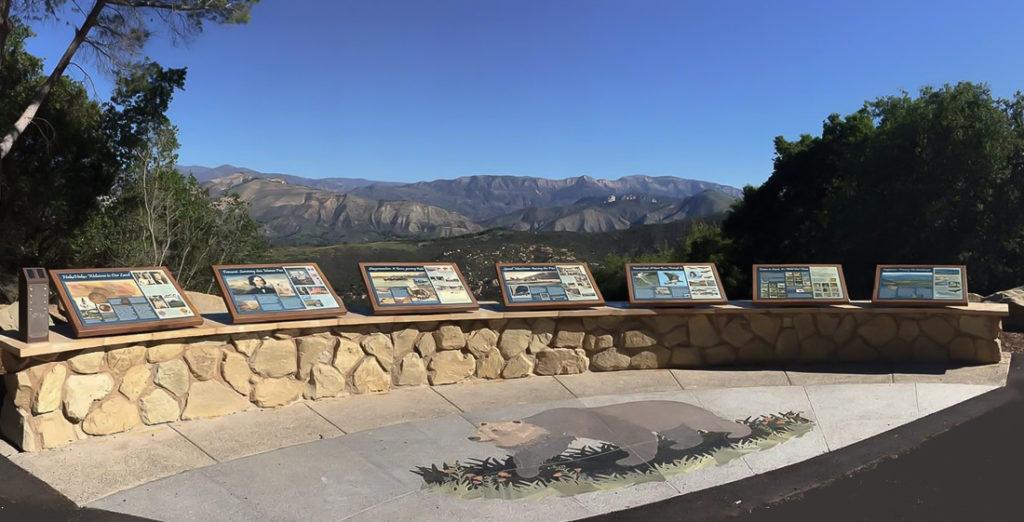 Loc 1 SB 154 Rancho Cielo Display Wall w Grizzly