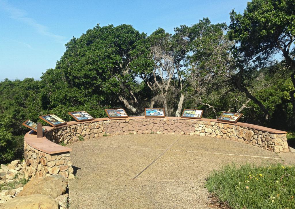 Loc 7 SCr 1 La Selva Display in Stone Wall