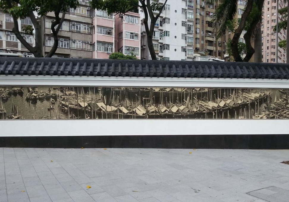 Hong Kong Feature Wall 1