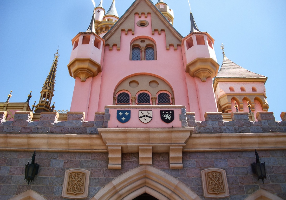 Sleeping Beauty's Castle Plaques2